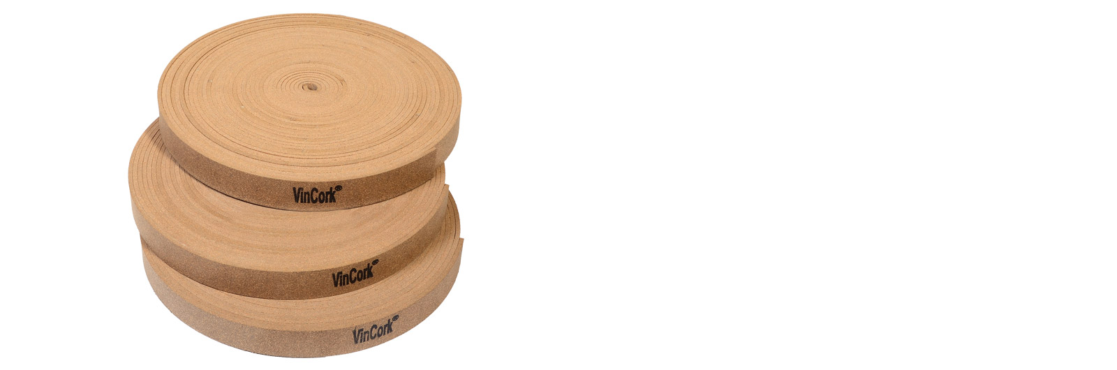 Rubberised cork Strips